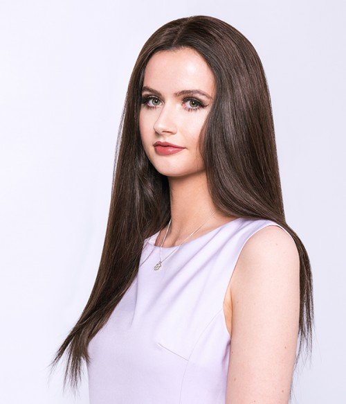 "Ariel 18"" 5 Pieces Natural Straight Clip-In Synthetic Hair Extensions"