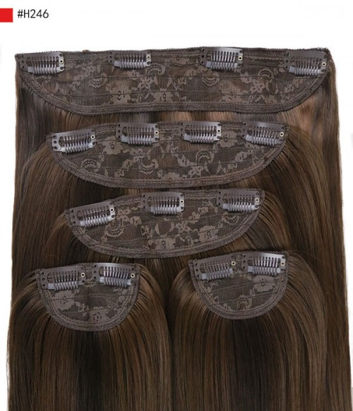 "Tania 22"" 5 Pieces Blow-Dry Wavy Clip-In Hair Extensions"