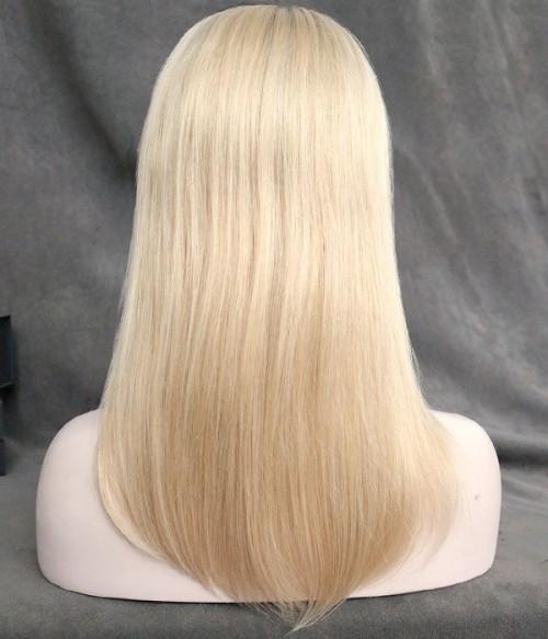 "6""*7"" Bella Virgin Remy Human Hair Silk Top Topper"