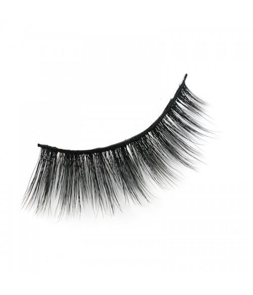 Gift Set human hair bangs and eyelashes