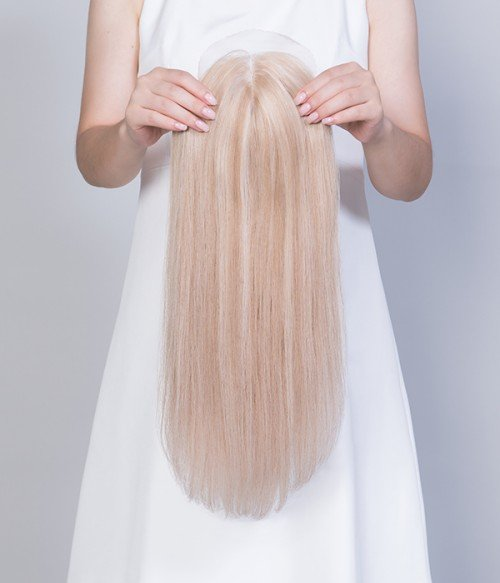 24-613 Summer Shandy | Light Blonde blended with Platinumum Blonde