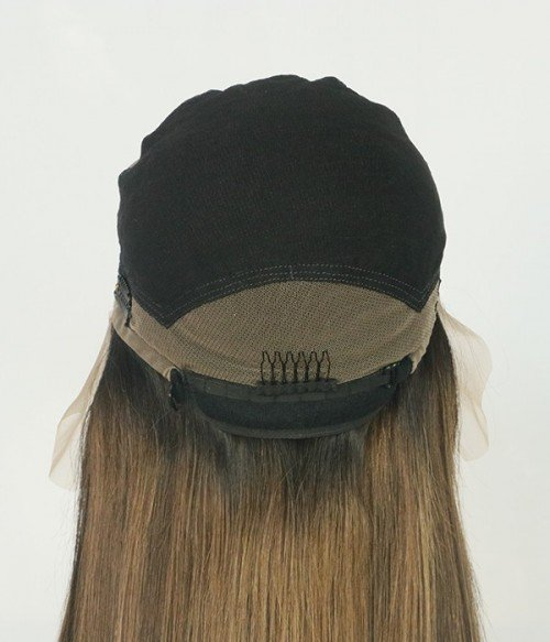 Mood - Remy Human Hair Wig- Glueless Full Lace Cap