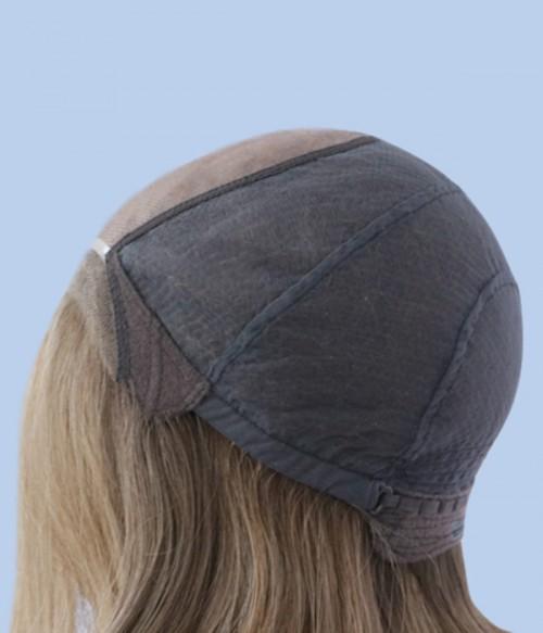 Lydia Mono Top Full Hand-tied Human Hair Wig