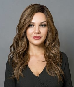 Perfection- Silk Top Full Hand-tied Human Hair Wig