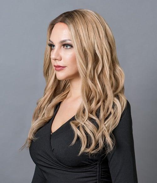 Hanna Remy Human Hair Mono Wig