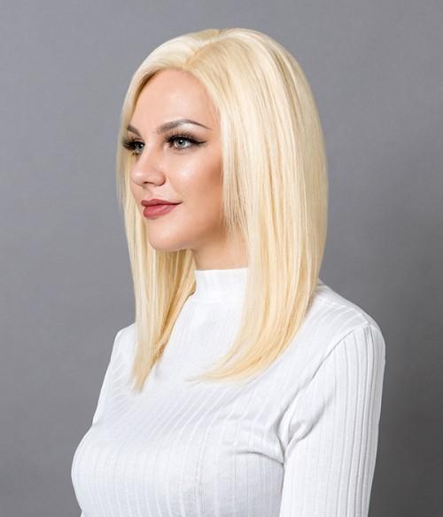 Cara -Remy Human Hair Lace Wig - Honey Wheat