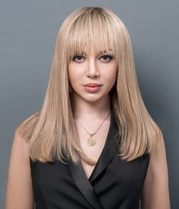 Zoe Mono Top Full Hand-tied Human hair wig