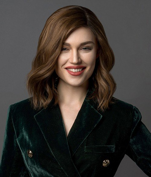 Zara mono top remy human hair wig