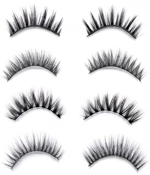 4-pack Modern City Eyelashes Collection