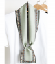 Long Print Scarf Hair Band | Tied Accessory