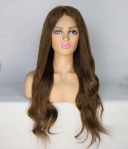 100% Human Hair Glueless Full Handtied Lace Wig| Average Size | Clearance