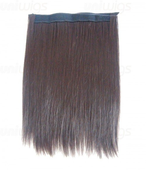 """16"""" Straight Synthetic Flip In Hair Extension E51007-Y-6HI"""