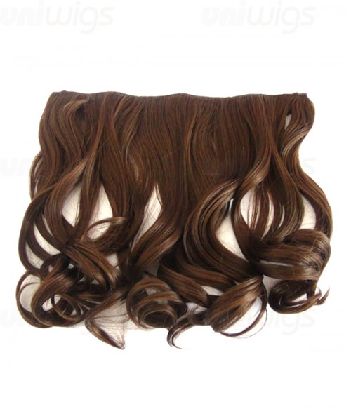"16"" Wave Synthetic Flip In Hair Extension E51006-Y-8HI"