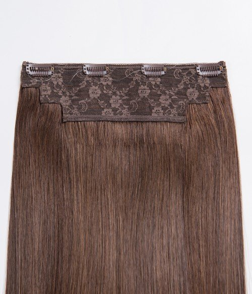 210 Truffle Brown| Medium brown lowlighted with dark coffee brown