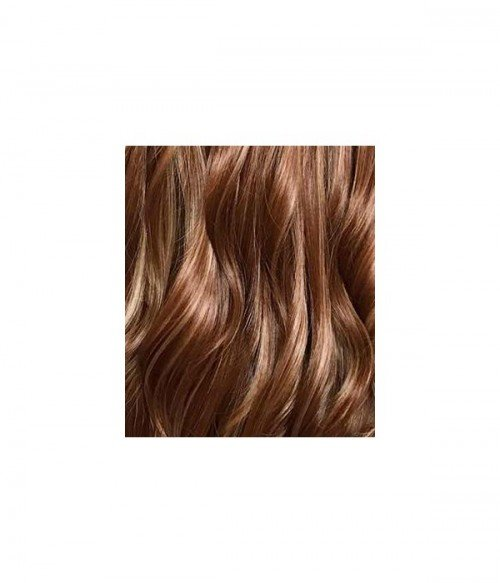 Ginger Spice | Bright Brown Highlight Long Layered Wavy Synthetic Wig