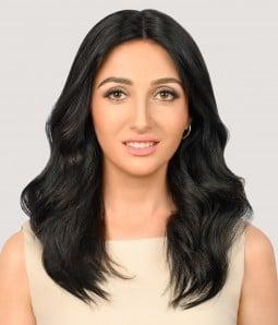 "6""x6"" Kaylee Low Density   Mono Top Remy Human Hair Topper   Non-Lace Front"