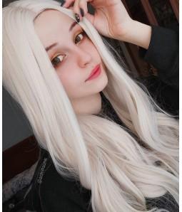 Becky | White Blonde Long Wavy Synthetic Wig | Daenery Targaryen