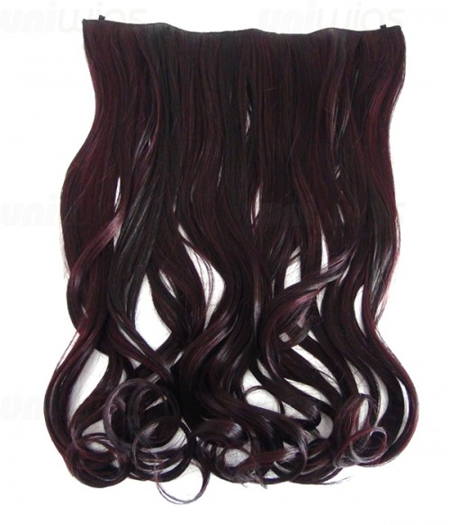 """20"""" Wave Synthetic Flip In Hair Extension E52000-Y-39"""