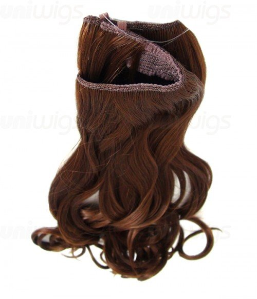 "20"" Wave Synthetic Flip In Hair Extension E52000-Y-10HI"
