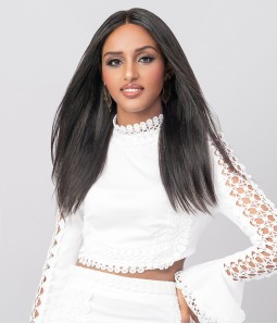"""Phoebe   Straight 100% Human Hair 13""""x4"""" Lace Front Wig"""