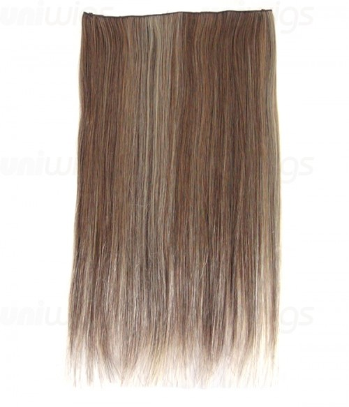 "20"" Straight Synthetic Flip In Hair Extension E52001-Y-20"