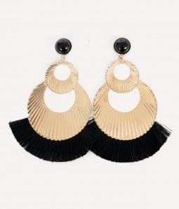 Kicky | Tassel Drop Earrings
