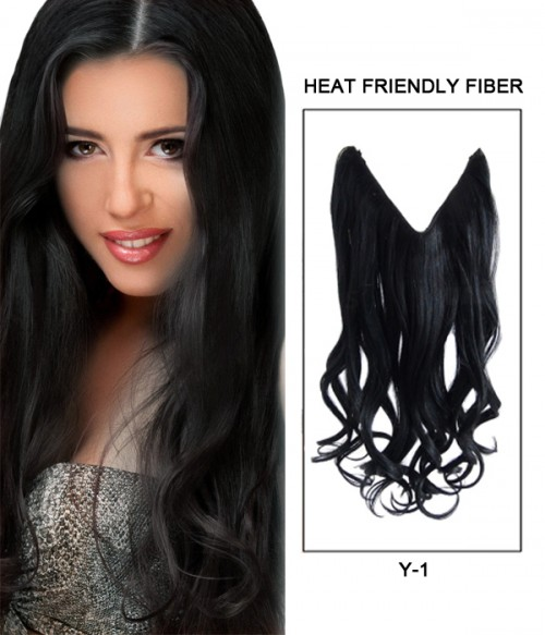 """20"""" Wave Synthetic Flip In Hair Extension E52000-Y-1"""