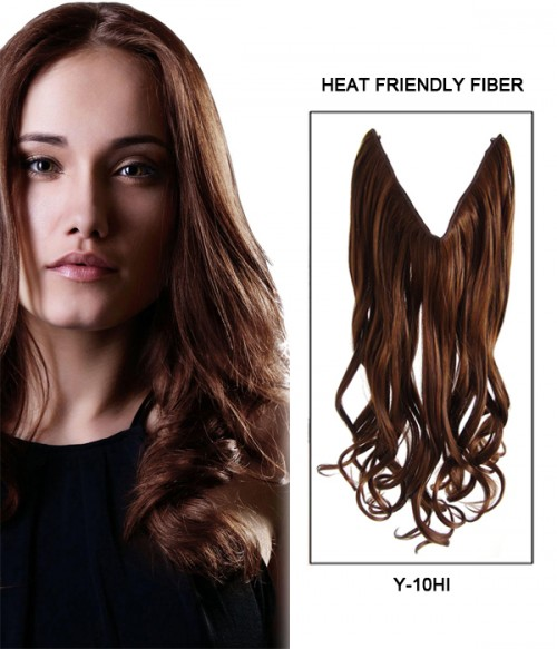 Upgraded 20 wave synthetic miracle wire uni hair extension with 20 wave synthetic flip in hair extension e52000 y pmusecretfo Image collections