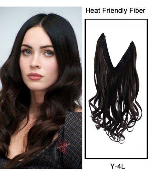 """16"""" Wave Synthetic Flip In Hair Extension E51006-Y-4L"""