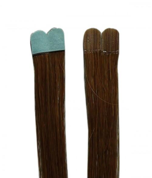 "18"" Gradient Color Remy Human Hair 10-Pieces Set Tape Hair Extension"