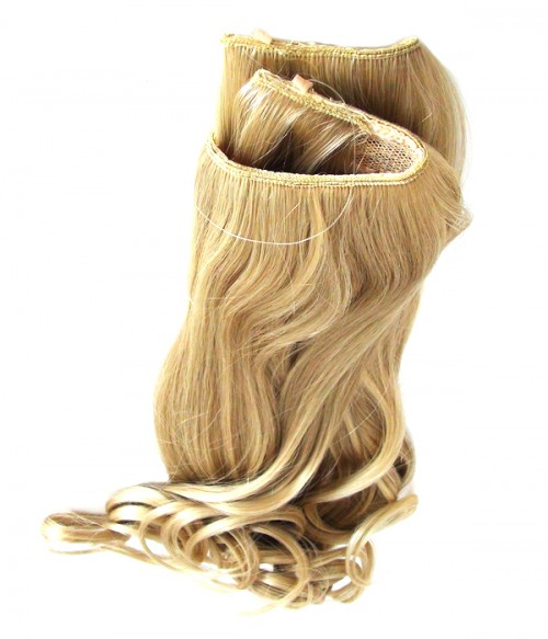 """18"""" Wave Synthetic Flip In Hair Extension E51008-Y-23"""