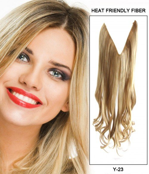 "22"" Wave Synthetic Flip In Hair Extension E52002-Y-23"