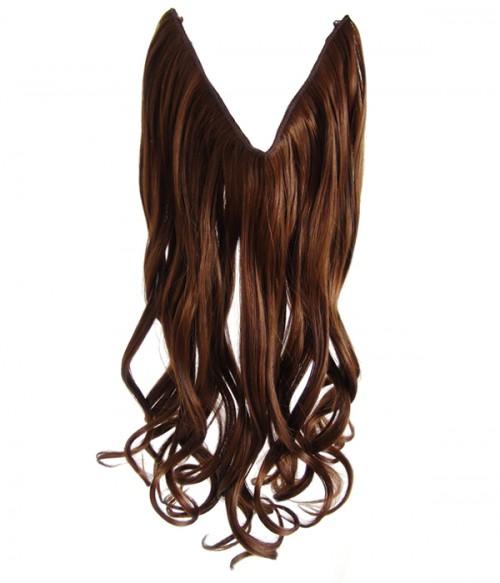 "22"" Wave Synthetic Flip In Hair Extension E52002-Y-10HI"