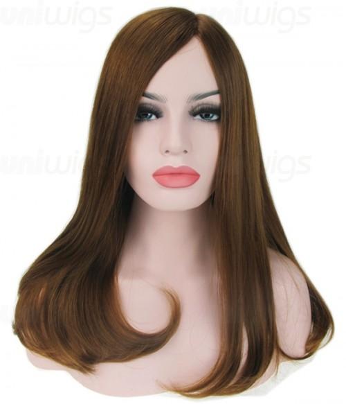 "18"" Top Quality Virgin Remy Human Hair Mono Wig"