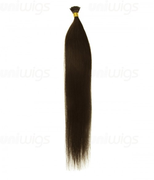 "18"" 25 pieces Silky Straight Pre-bonded Remy Hair Extension- I Tip"