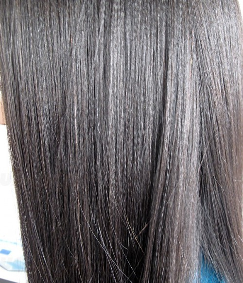"Rihanna 24"" Yaki Straight Indian Remy Human Hair Full Lace Wig"