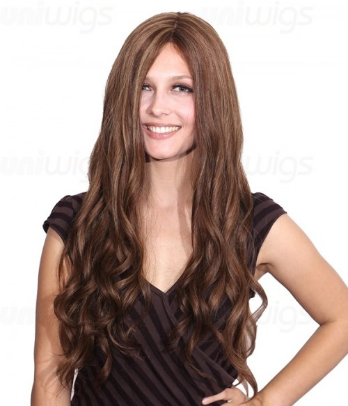 Veronica Remy Human Hair Lace Front/Mono Glueless Wig