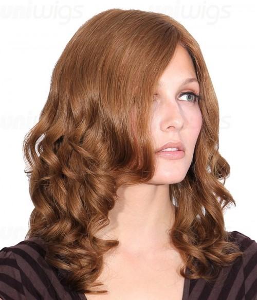 Glaze Remy Human Hair Lace Front/Mono Glueless Wig