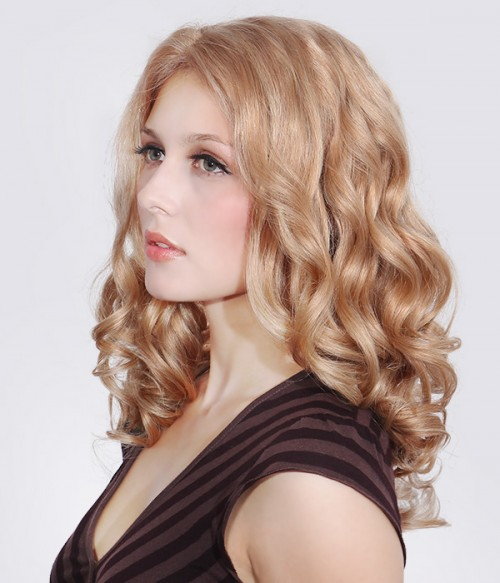 Cinch Remy Human Hair Lace Front/Mono Glueless Wig