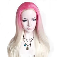 Cotton Candy Synthetic Lace Front Wig