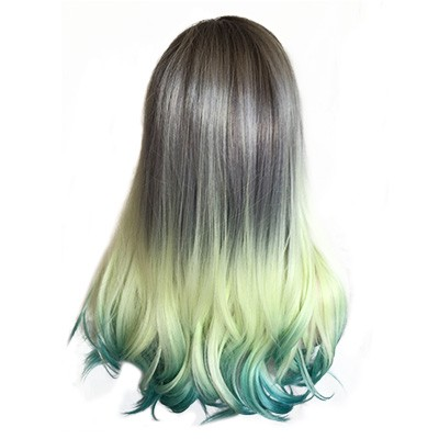 YL-147(Rooted Ash Blonde To Teal)
