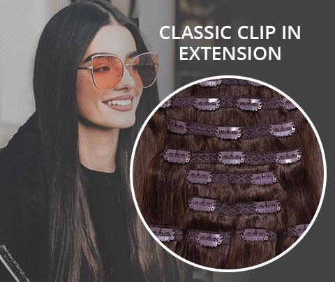 Classic CLIP IN EXTENSION