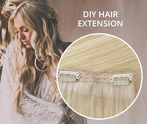 DIY HAIR EXTENSION