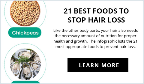 21 Best Foods to Stop Hair Loss