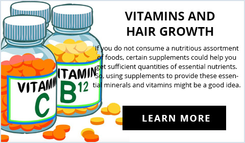 Vitamins and Hair Growth