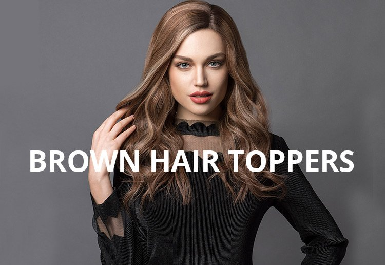 brown hair toppers