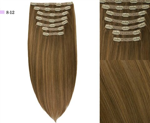 Audrey 7-Piece Clip-in Superior Remy Human Hair Extensions