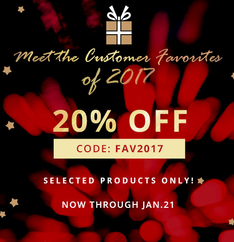Meet the Customer Favorites of 2017