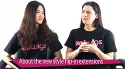About UniWigs New Generation Flip In Hair Extensions