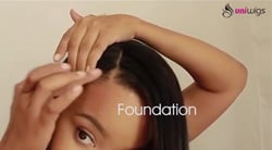 How to Have a Natural Hair Parting